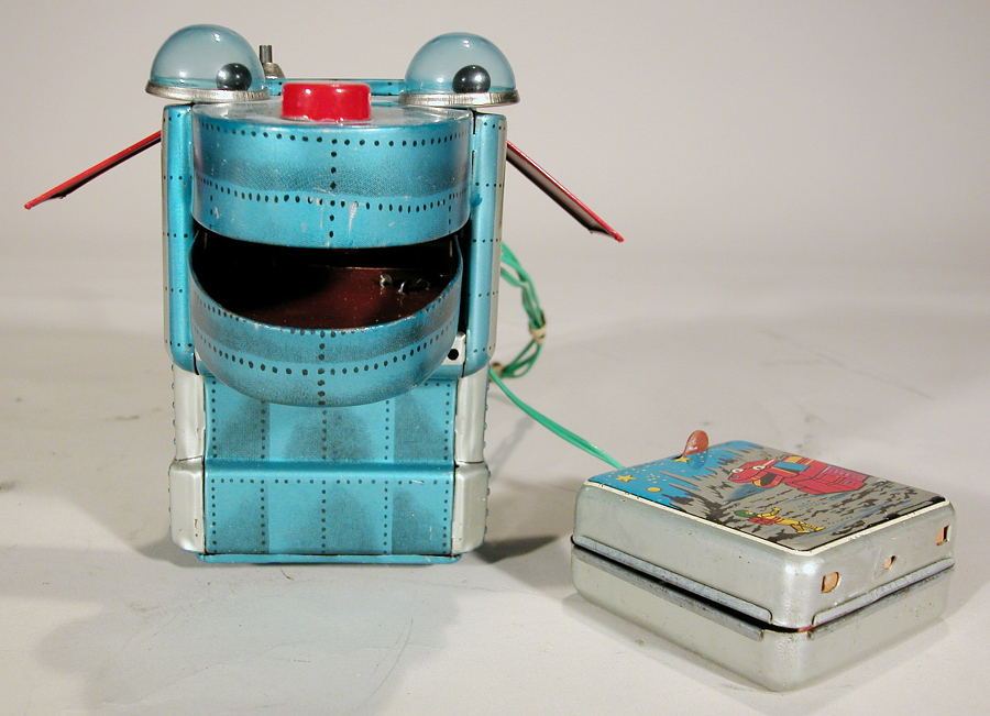 Toy, Tin Toy, Robot, 'Space Dog'