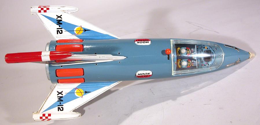 Toy, Tin Toy, 'Moon Rocket'