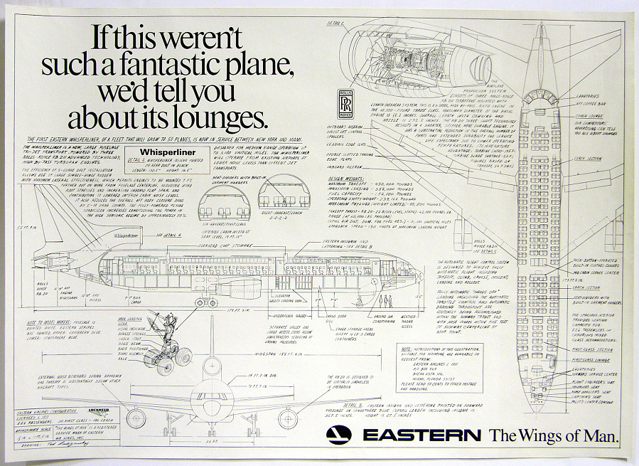 Eastern If This Weren't Such a Fantastic Plane...we'd tell you about it's lounges