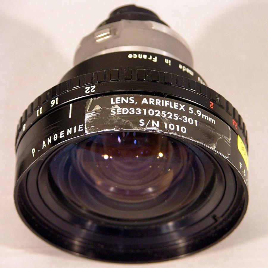 Lens, 5.9mm, Arriflex, Space Shuttle