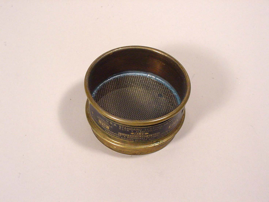 Sieve, 710 Microns, for Manufacture of Solid Rocket Fuel