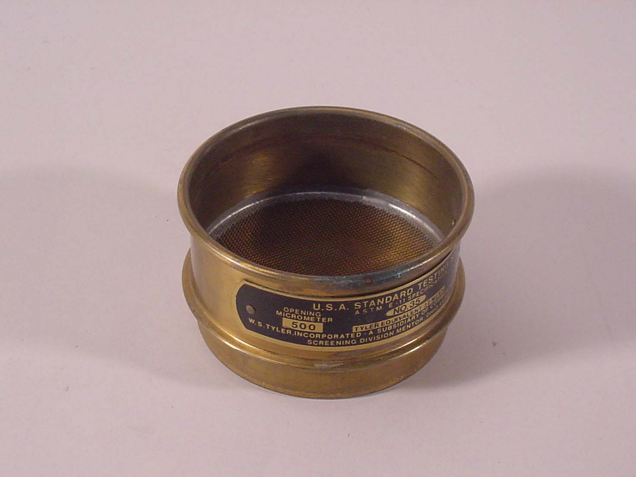 Sieve, 500 Microns, for Manufacture of Solid Rocket Fuel