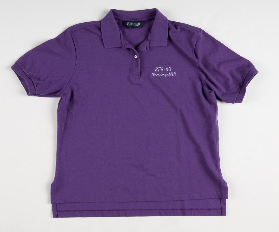 Crew Shirt, Shuttle, STS-63 (Eileen Collins)