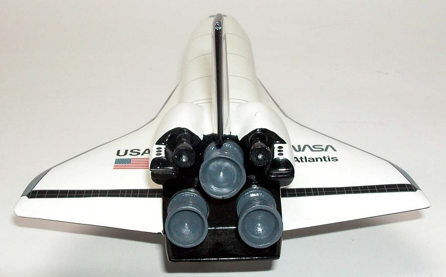 Model, Space Shuttle Orbiter, Atlantis, 1:100