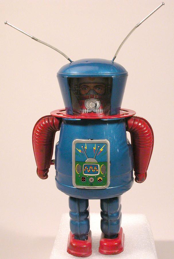 Toy, Tin Toy, Robot, X-27 Astronaut