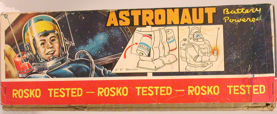 Box, Rosko Astronaut Toy