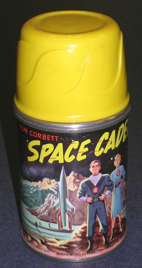 Bottle, Insulated, 'Tom Corbett, Space Cadet'