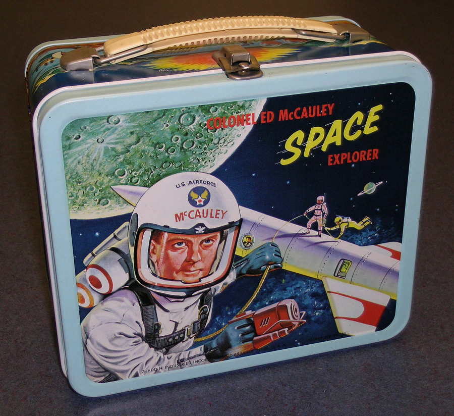Lunch Box, 'Colonel Ed McCauley, Space Explorer'