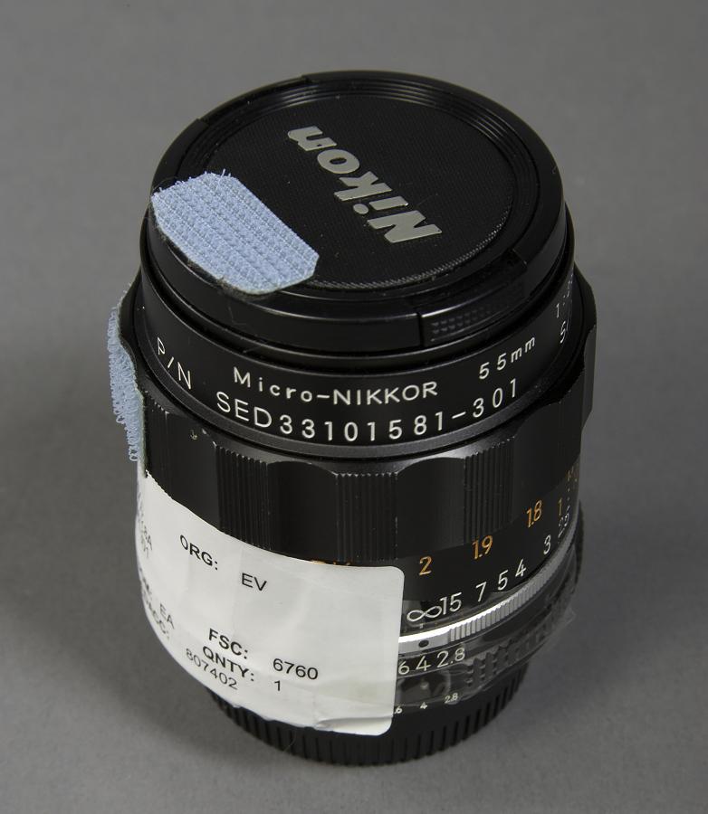 Lens, 55mm F/2.8A, Nikon, Shuttle