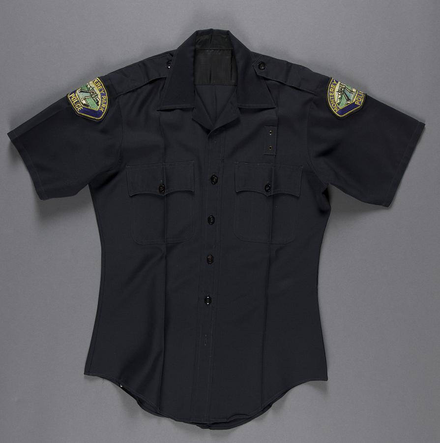 Shirt, Uniform, Class-B, Joe Santoro, Monterey Park Police
