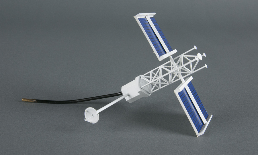 Model, Space Station, Dual Keel, Companion Free-FLyer