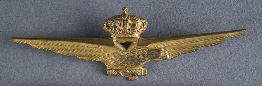 Badge, Pilot, Italian Air Force (Regia Aeronautica)