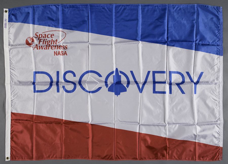 Flag, Space Shuttle, Discovery