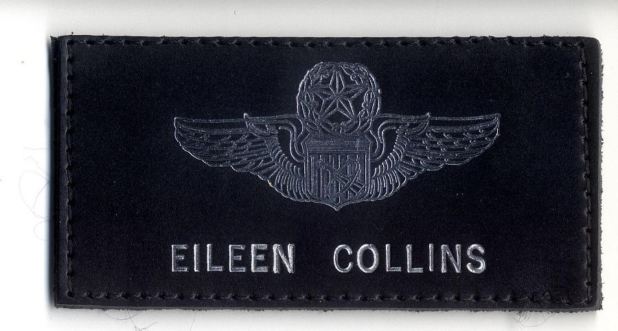 Name Tag, Shuttle Astronaut (Collins) (Flown)