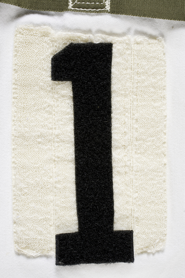 Patch, '1', Space Shuttle Closeout Crew Chief