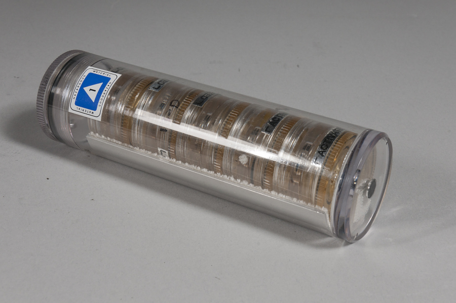Growth Cell, Cylinder 1, Glovebox Hip Pack, Protein Crystal Growth Experiment