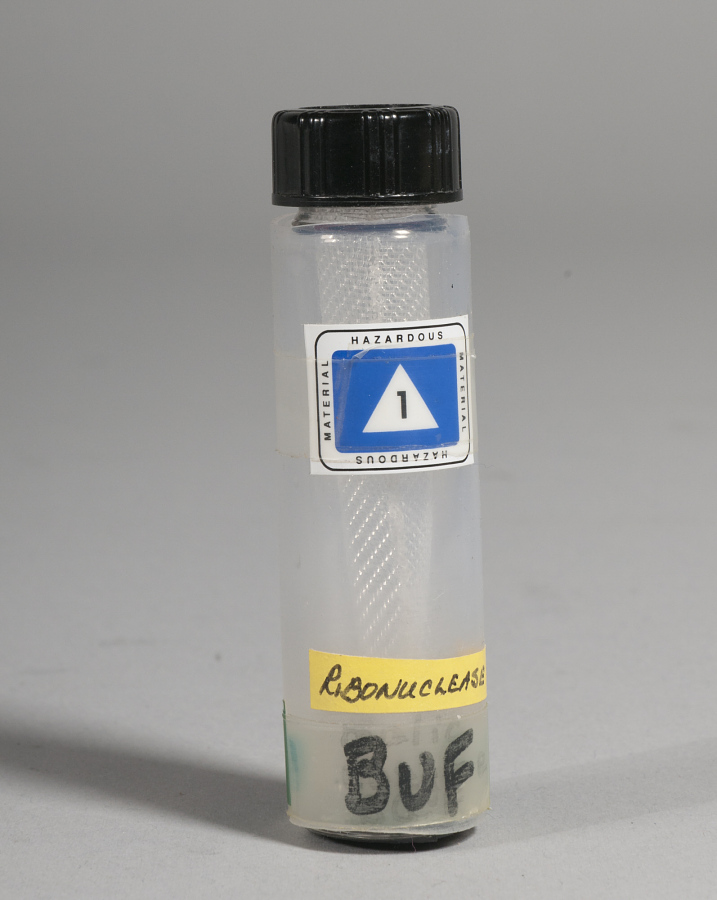 Bottle, Glovebox Hip Pack, Protein Crystal Growth Experiment, Shuttle