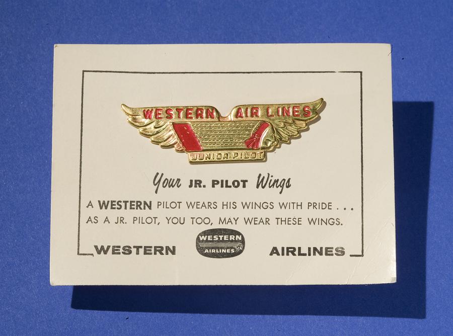 Wings, Western Junior Pilot