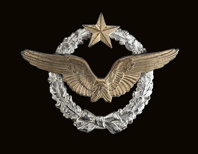 Badge, Military Airplane or Dirigible Crewman, France