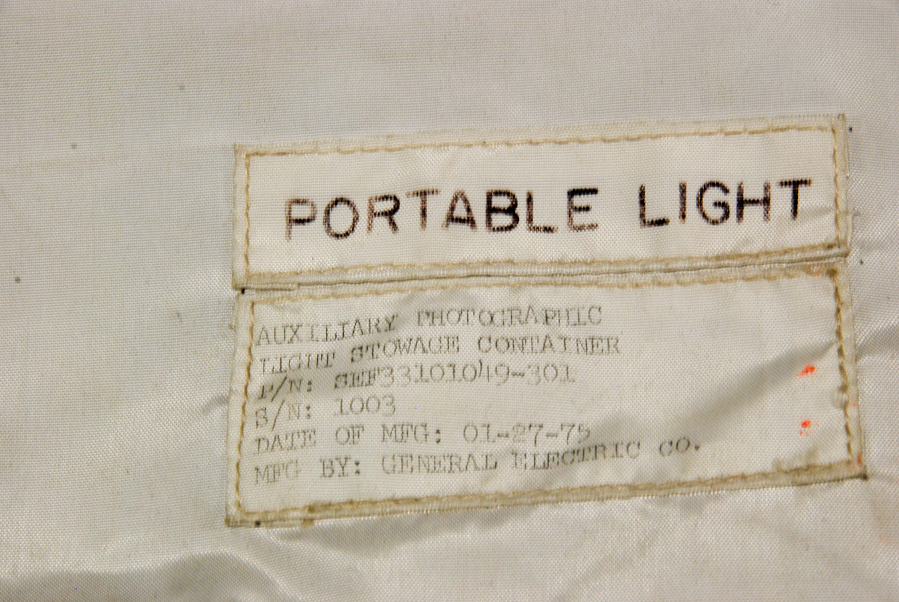 Stowage Container, Auxiliary Photographic Light, IMAX