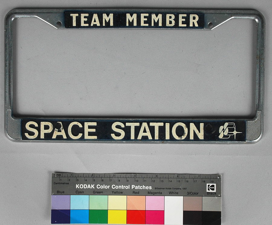 Frame, License Plate, Space Station Concept, Rockwell Group