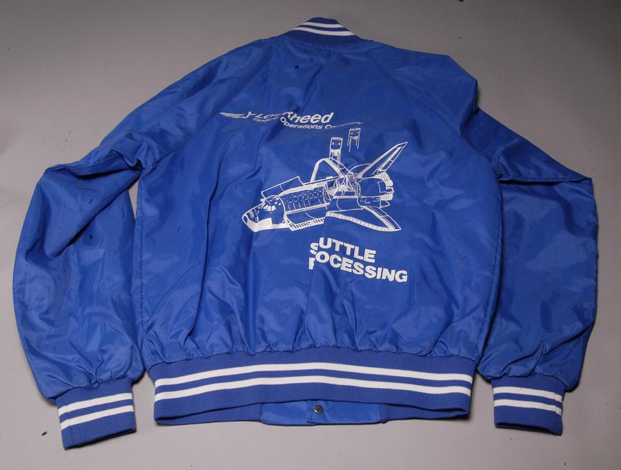 Jacket, Lockheed Space Operations Company, Shuttle Processing
