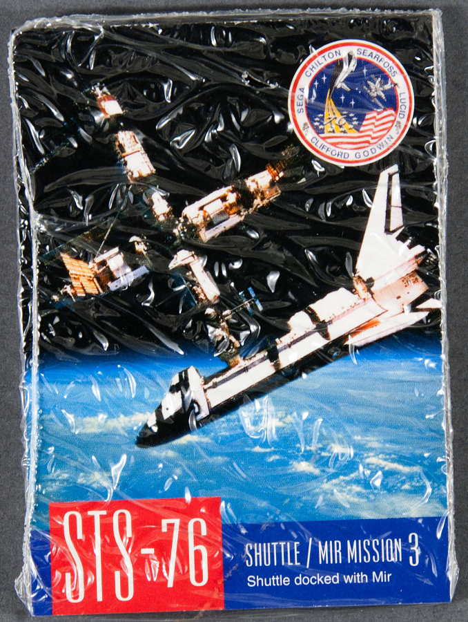 Card, Trading, STS-76 Mission