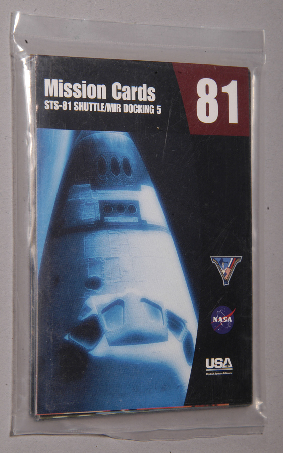 Card, Trading, STS-81 Mission