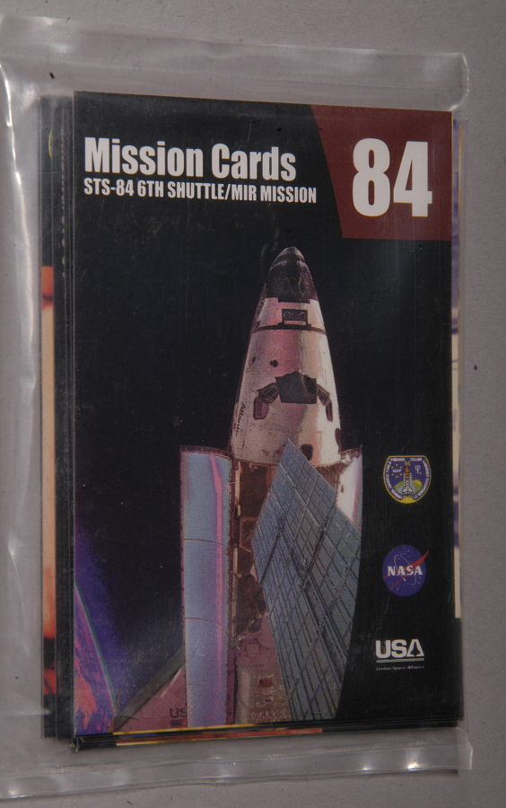 Card, Trading, STS-84 Mission