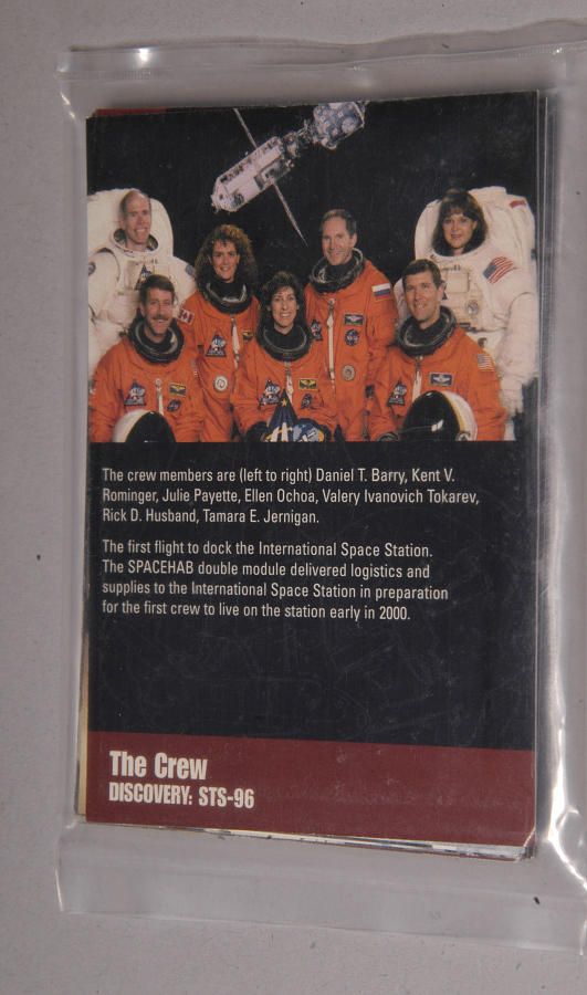 Card, Trading, STS-96 Mission