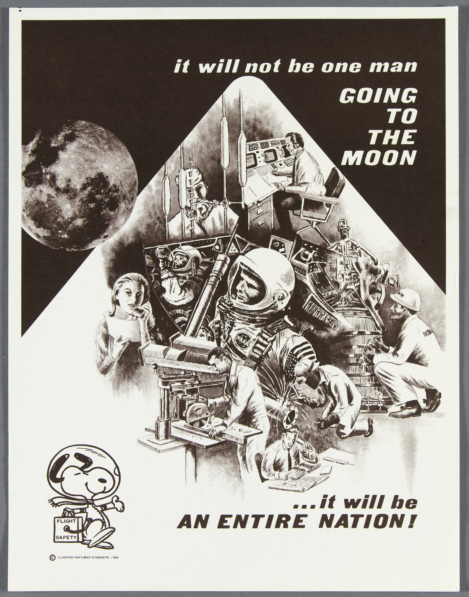 images for Poster, NASA, Manned Flight Awareness