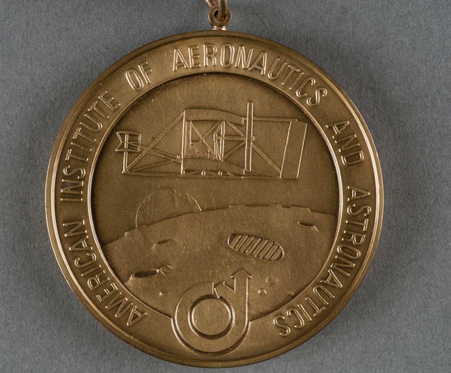 Medal, AIAA Lawrence Sperry Award (and case), Sally Ride