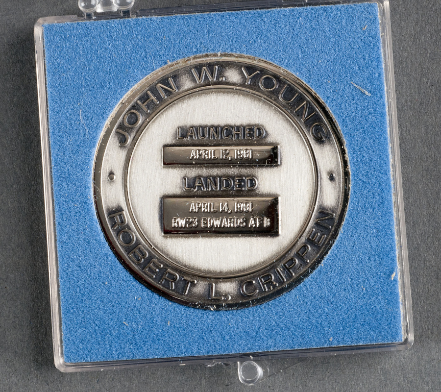 Medallion, Robbins, STS-1, Sally Ride