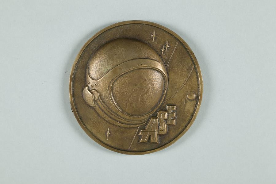Medallion, Association of Space Explorers, Arthur C. Clarke