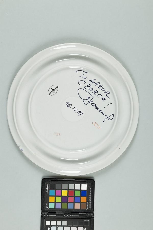 Plate, Commemorative, Alexei Leonov to Arthur C. Clarke