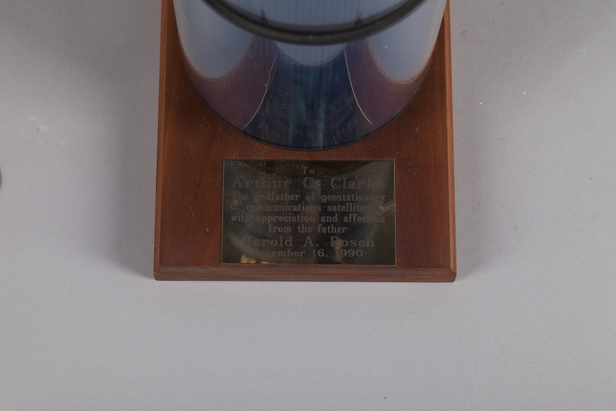 Commemoration, Harold Rosen to Arthur C. Clarke