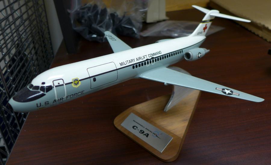 Model, Static, McDonnell Douglas C-9A Nightingale, USAF