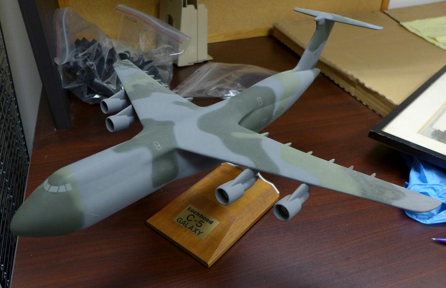 Model, Static, Lockheed C-5A, USAF