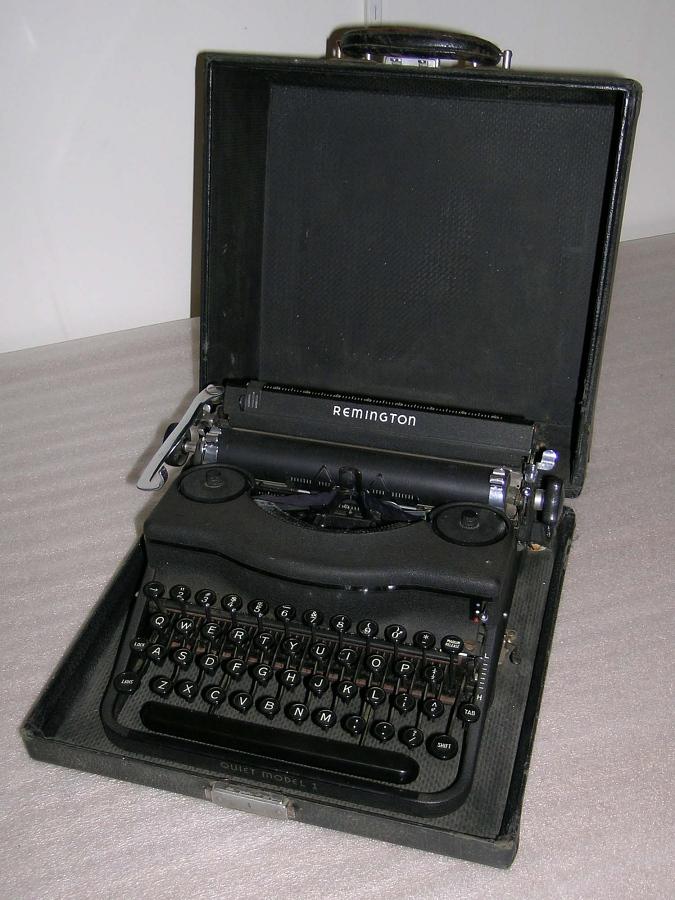 Typewriter; Remington