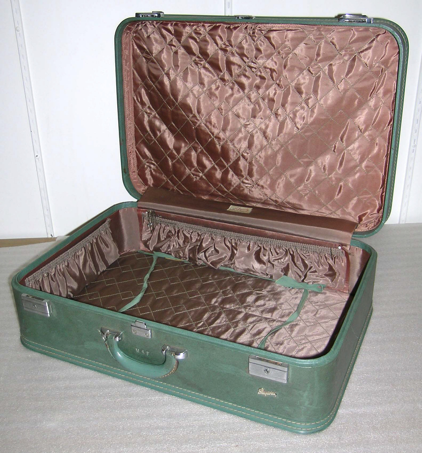 Suitcase Large, Green