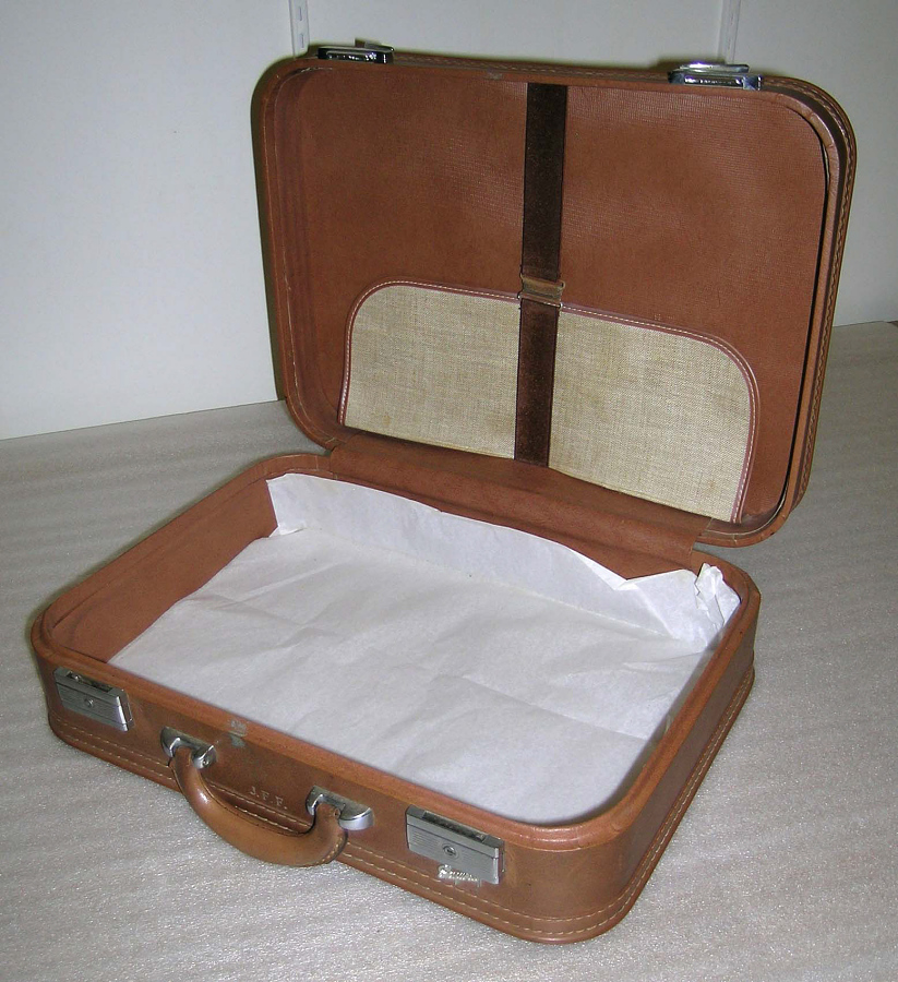 Suitcase Small, Brown