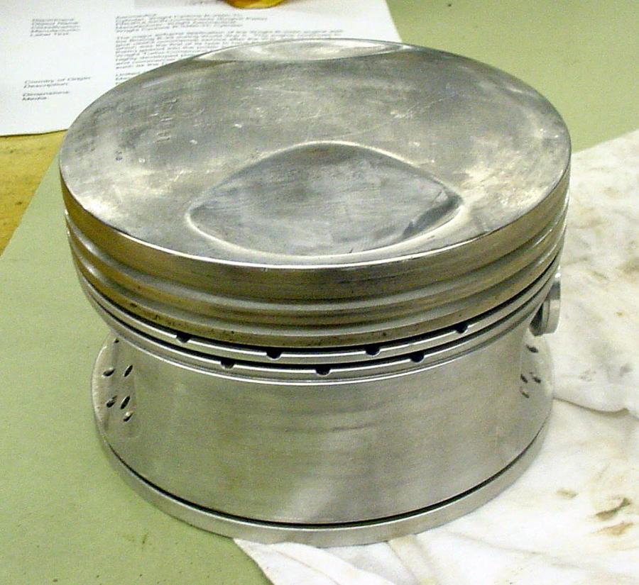 Piston, Wright Cyclone R-3350-TC Engine
