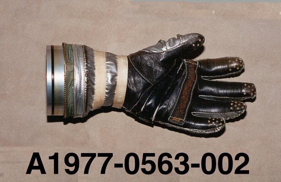 Glove, Left, Mercury, Shepard, Freedom-7