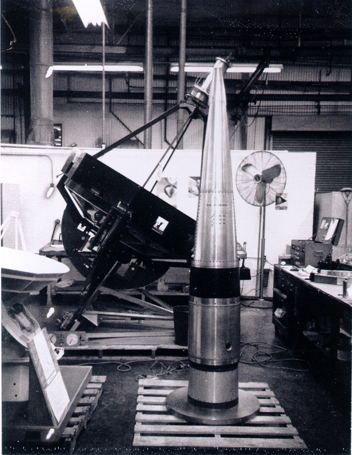 Sounding Rocket, Aerobee, Nosecone Housing, with Spectrograph