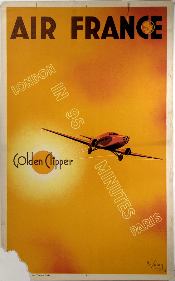 Air France: Golden Clipper