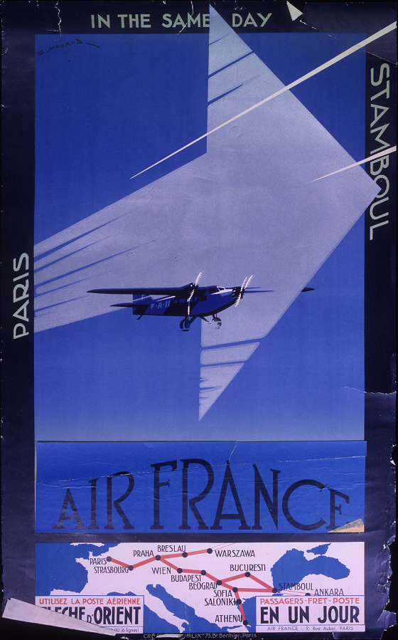 Air France: Paris Stamboul in the Same Day