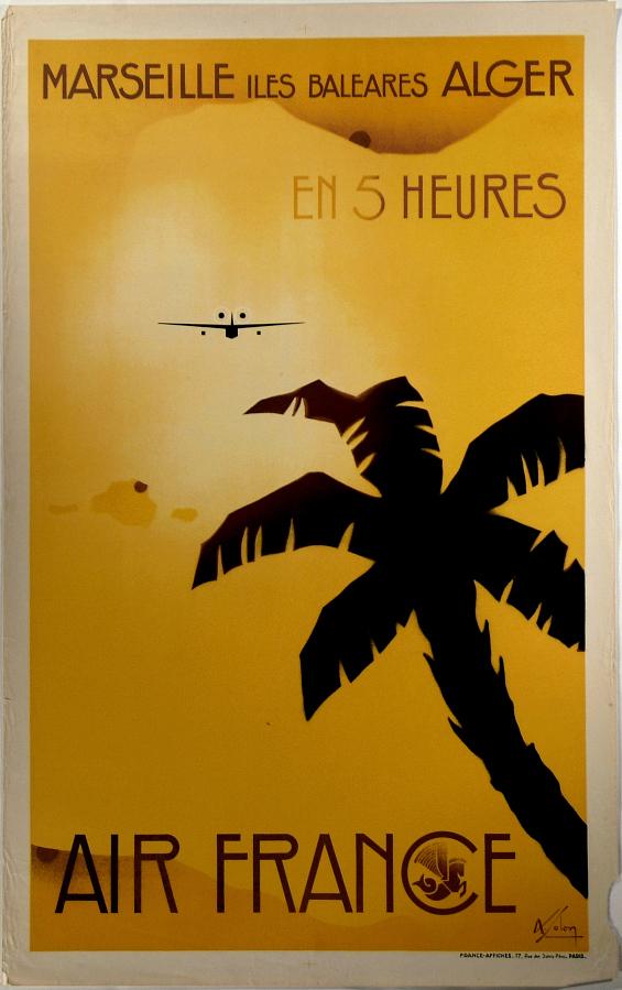 Air France Marseille Iles Baleares Alger en 5 Heures