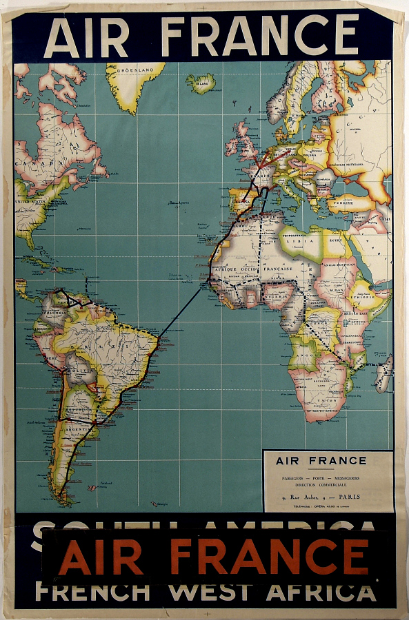 Air France South America - French West Africa