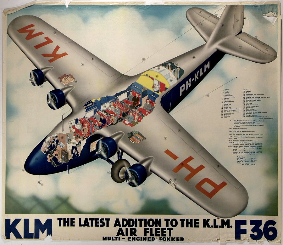 K. L. M. F36 The Latest Addition to the K.L.M. Air Fleet