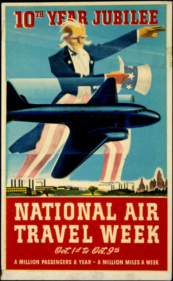National Air Travel Week 10th Year Jubilee